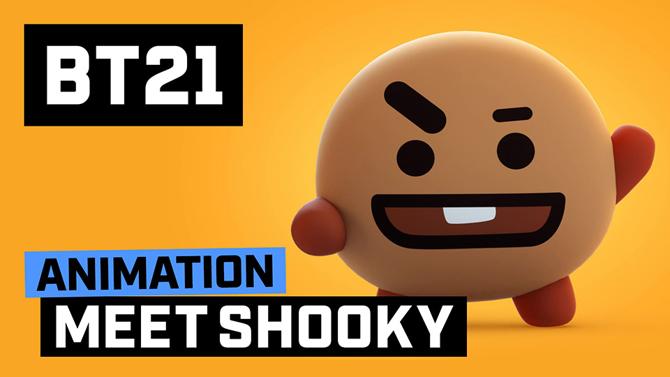 [BT21] Meet SHOOKY!