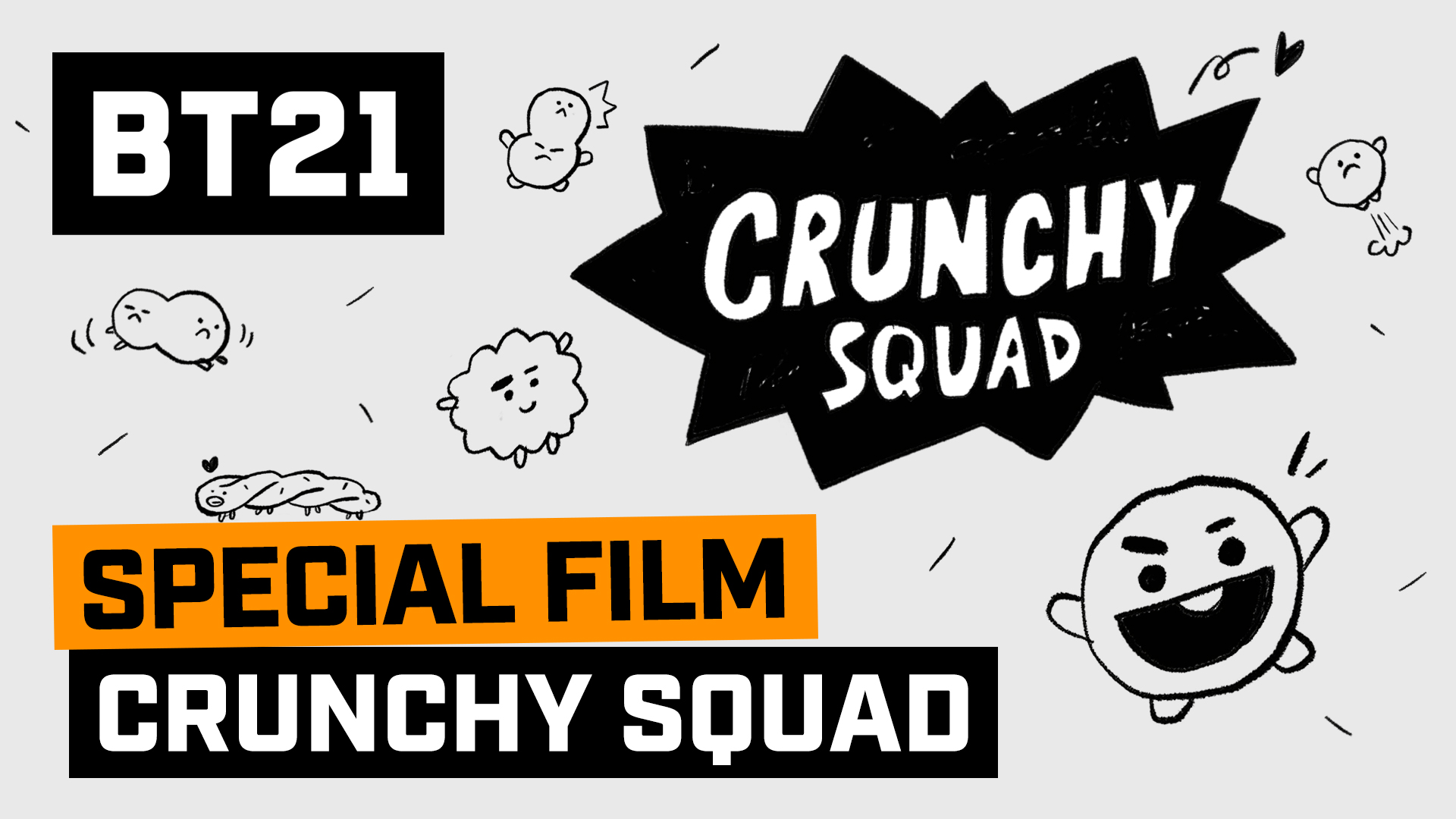 [BT21] CRUNCHY SQUAD created by BT21 LOVERS!