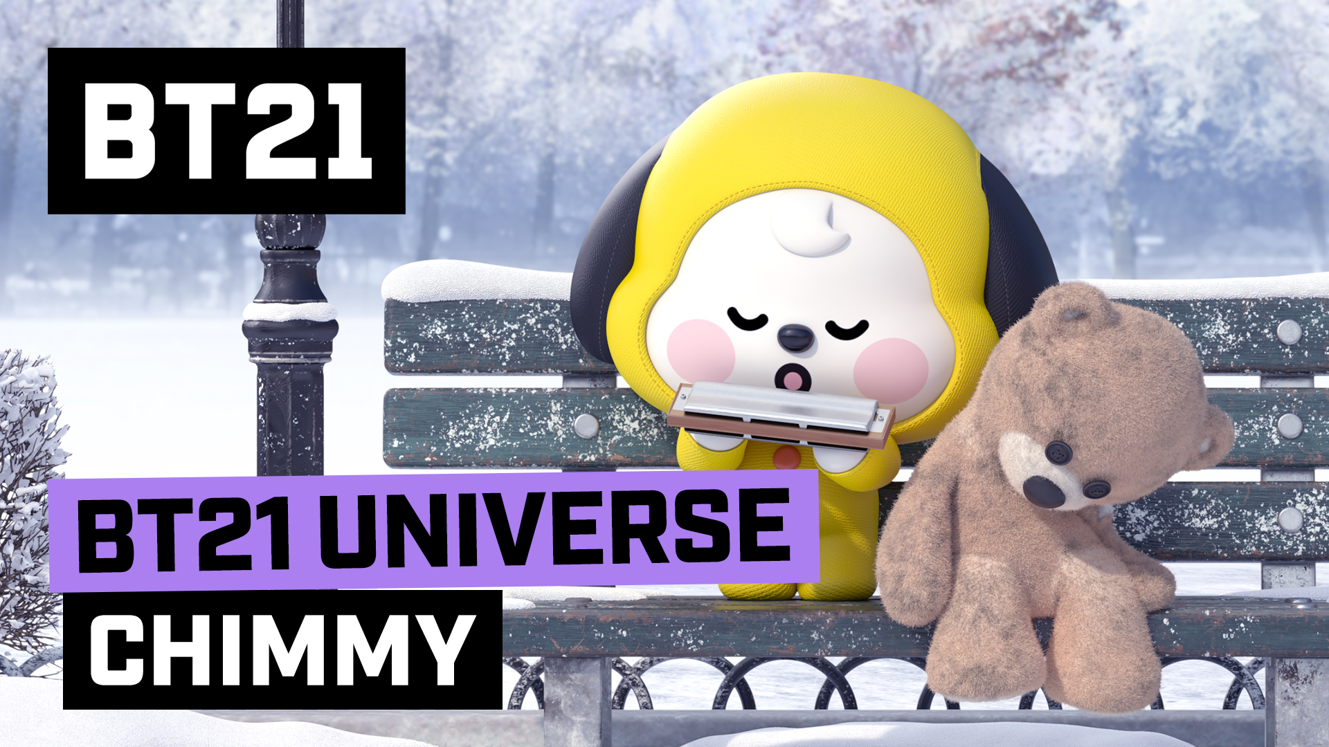 BT21 UNIVERSE ANIMATION - EP06. CHIMMY