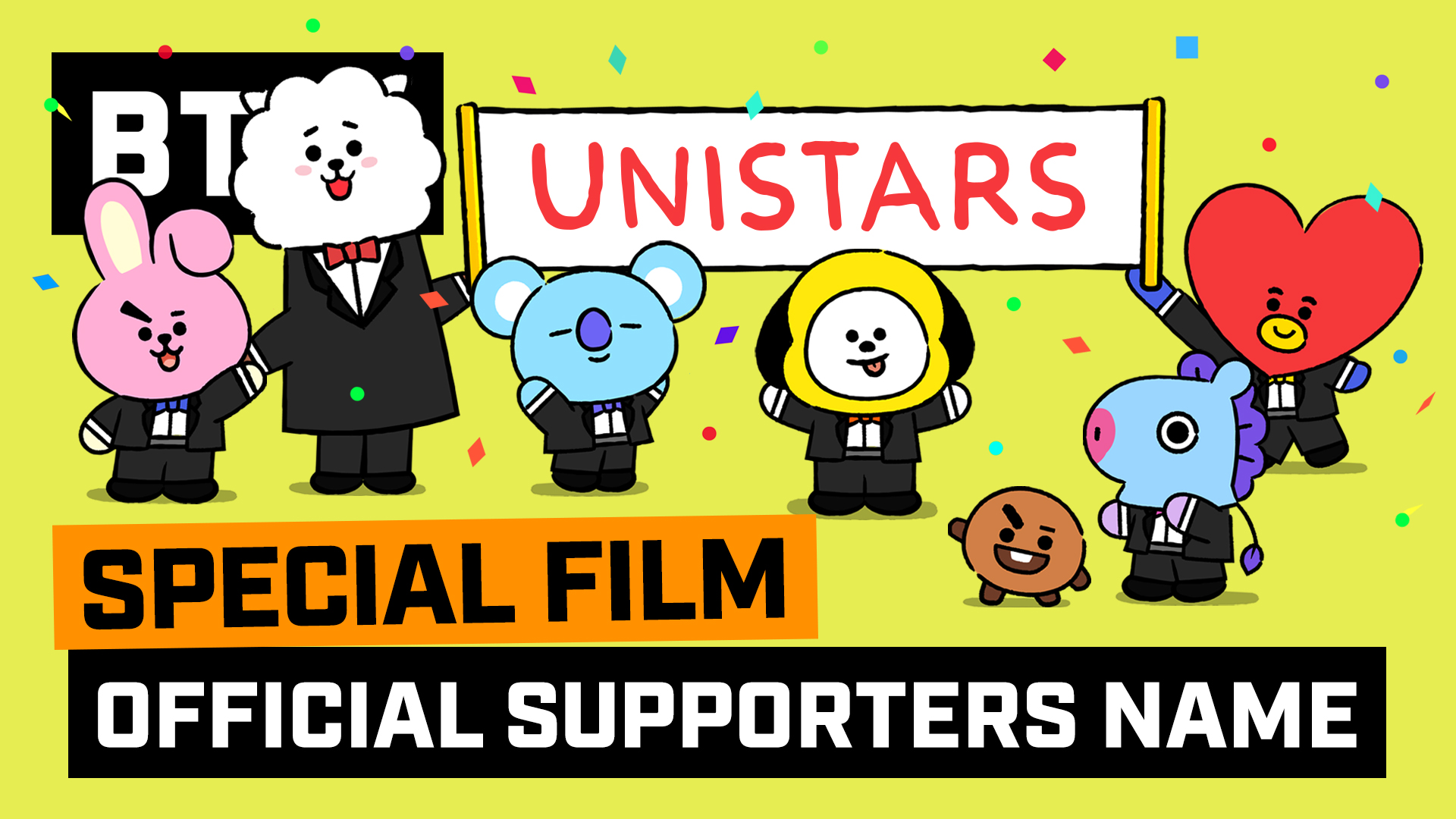 [BT21] Official Supporters Name