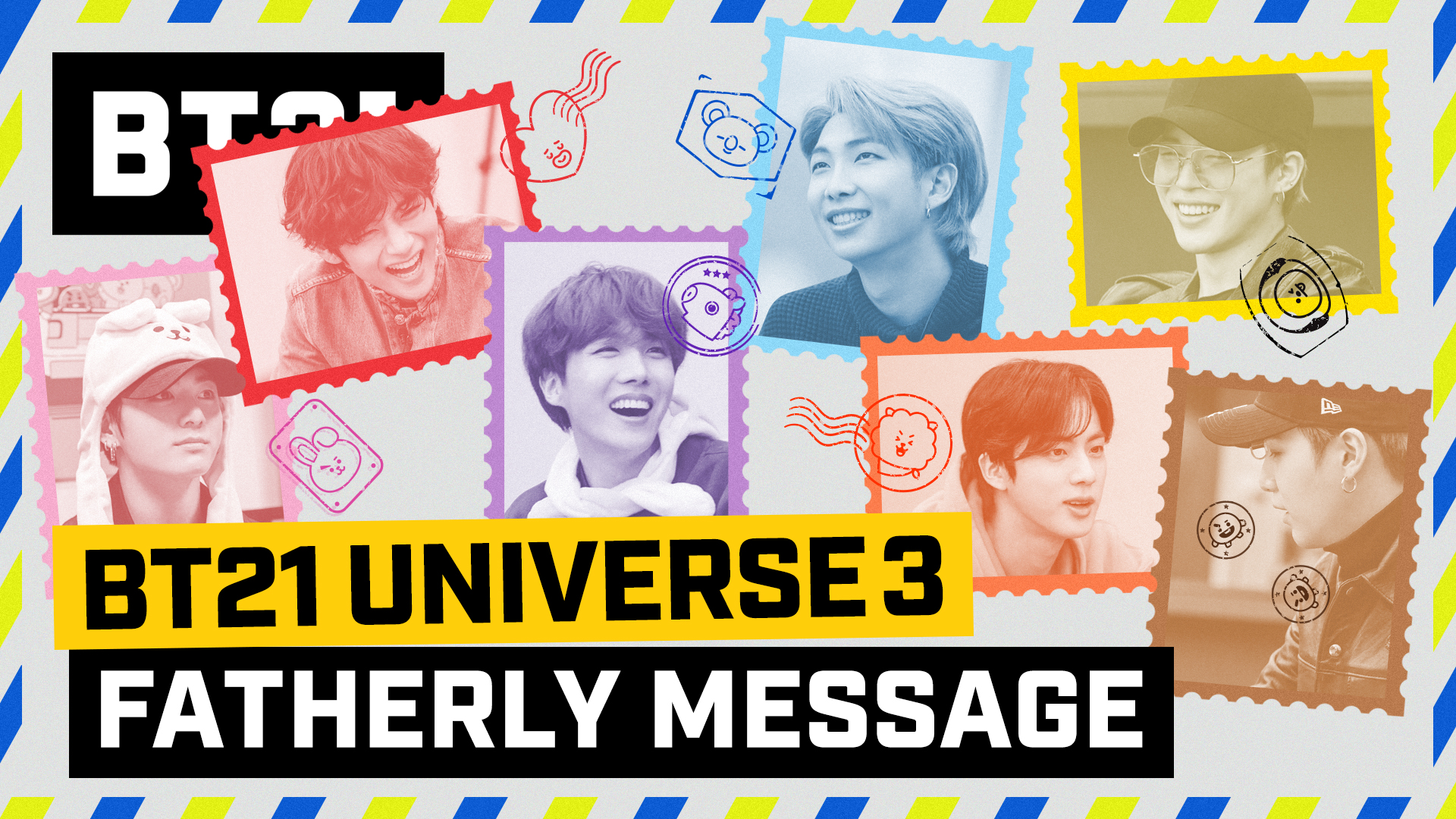 BT21 UNIVERSE 3 EP.09 - Fatherly Message