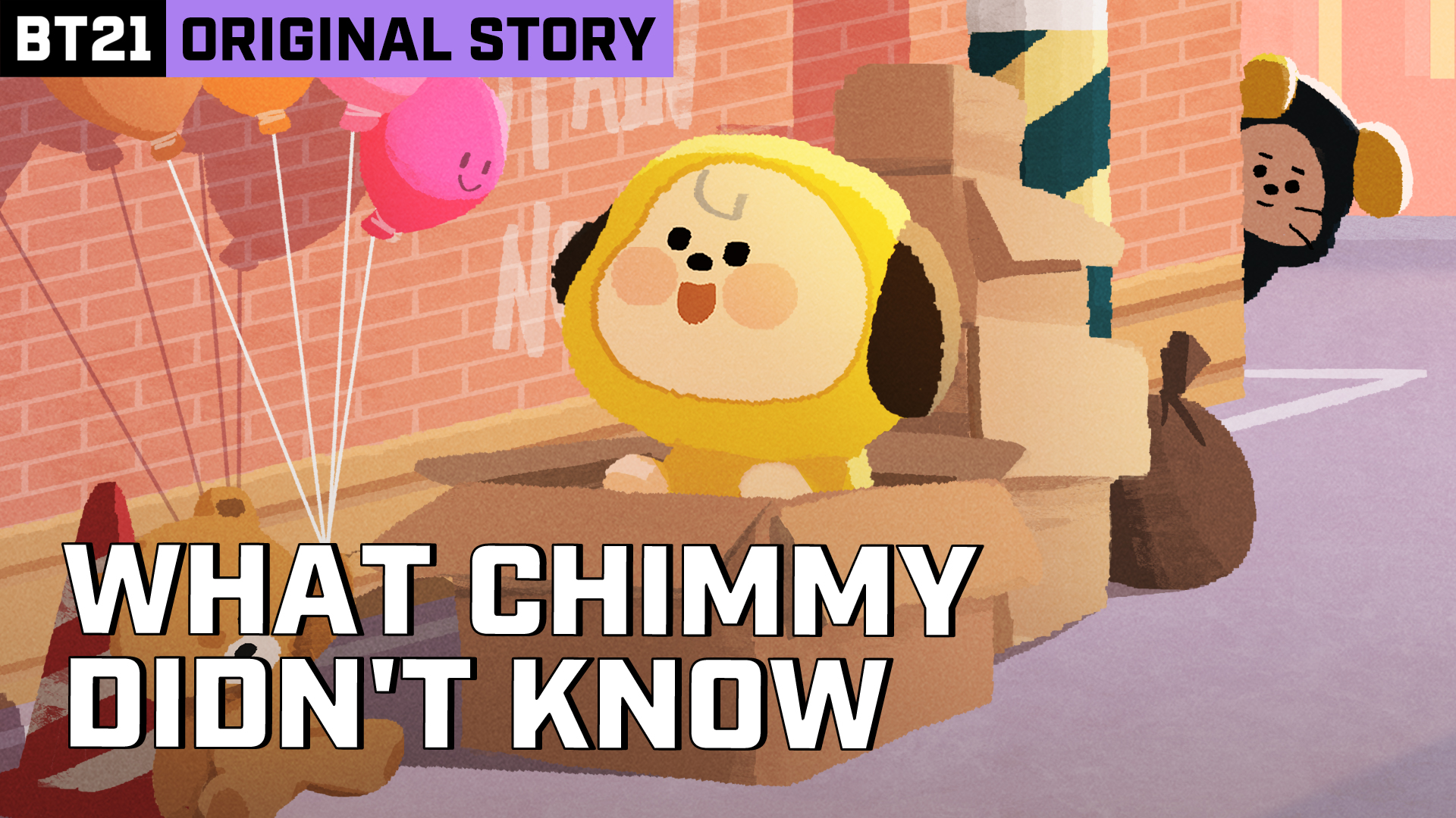 BT21 ORIGINAL STORY EP.01 - CHIMMY&CHIEF